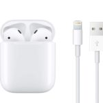 airpods apple carga con cable
