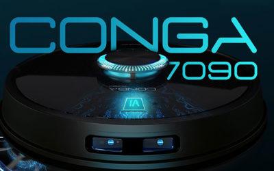 Reseña y opiniones del nuevo Cecotec Conga 7090. El robot aspirador con inteligencia artificial