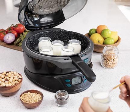 cocinar yogures con robot de cocina